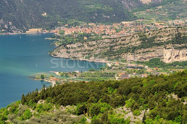Lake Garda Nago-Torbole 11 Stock photo © LianeM