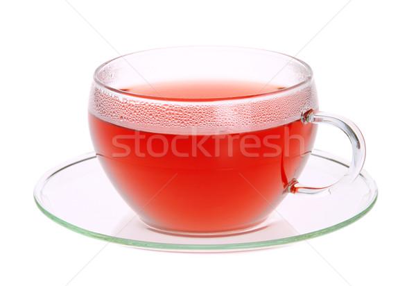 raspberry tea 04 Stock photo © LianeM