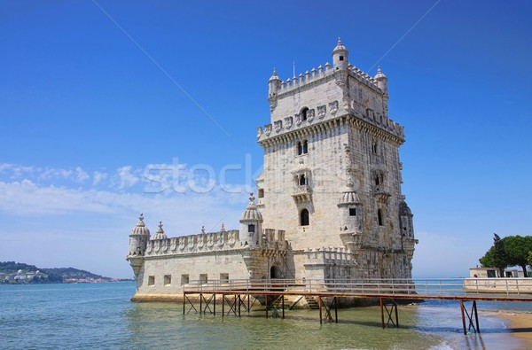 Lisbon Torre de Belem 05 Stock photo © LianeM