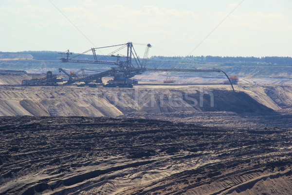 open pit Welzow 08 Stock photo © LianeM