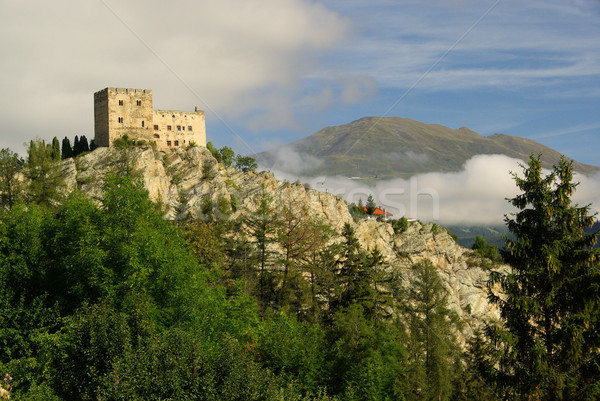 Stock photo: Ladis castle Laudegg 07