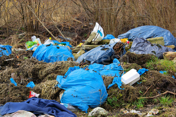 garbage dump 04 Stock photo © LianeM