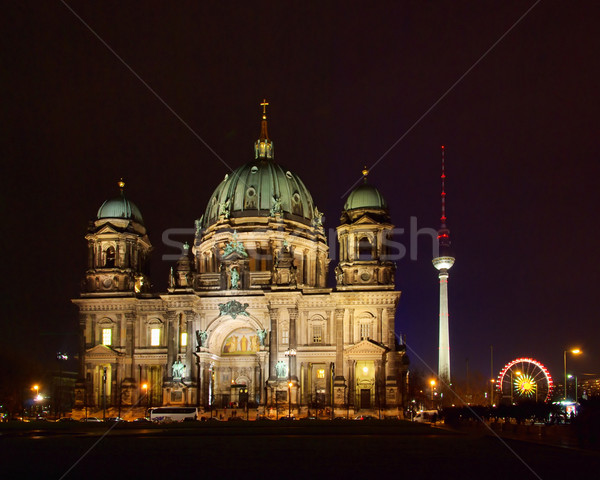 Berlin Dom - Berlin cathedral 01 Stock photo © LianeM