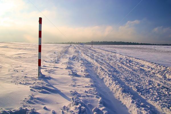 road in winter 12 Stock photo © LianeM