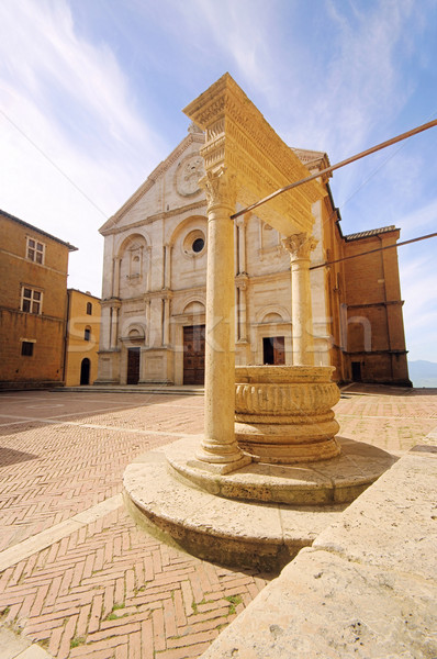 Pienza cathedral 04 Stock photo © LianeM