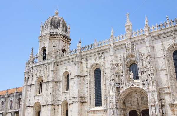 Lisbon Jeronimos Monastery 05 Stock photo © LianeM