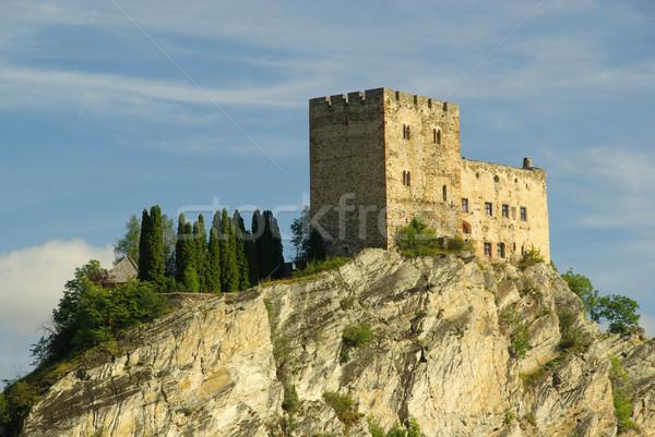 Stock photo: Ladis castle Laudegg 08