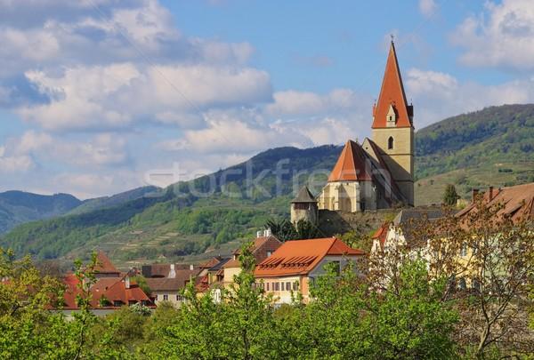 Weissenkirchen in Wachau church  Stock photo © LianeM