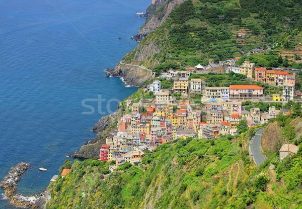 Cinque Terre Riomaggiore  Stock photo © LianeM