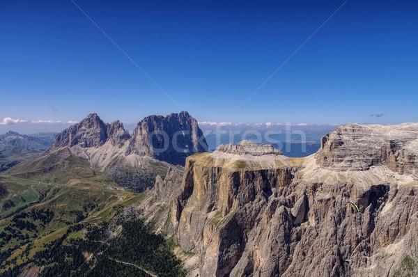 Sella group in Dolomites  Stock photo © LianeM