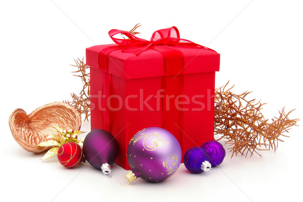 Geschenk freigestellt - gift isolated 34 Stock photo © LianeM