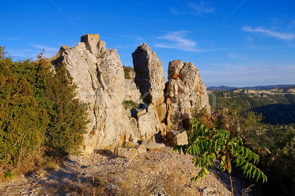 Cirque de Navacelles in southern France Stock photo © LianeM