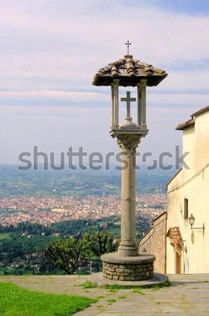 Fiesole view to Florenz 02 Stock photo © LianeM