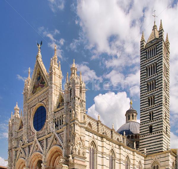Siena Dom - Siena cathedral 03 Stock photo © LianeM