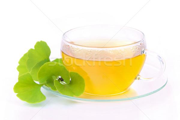tea ginkgo 03 Stock photo © LianeM