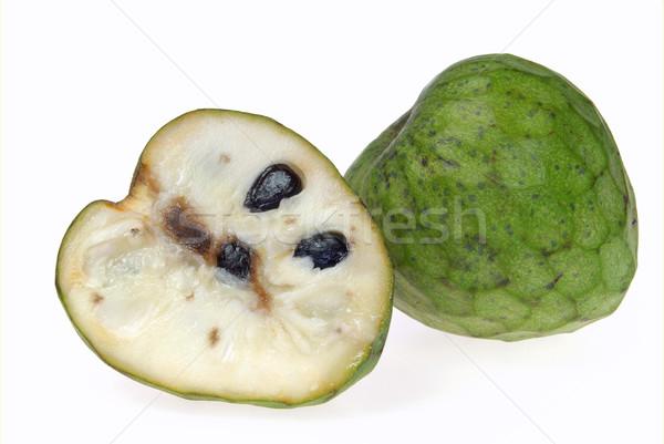 19 meyve yeşil tropikal beyaz taze Stok fotoğraf © LianeM