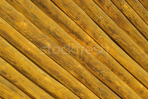 Plank 18 boom muur natuur ontwerp Stockfoto © LianeM