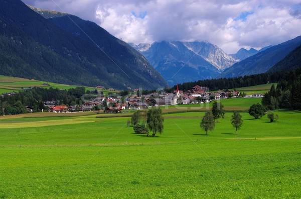 Antholzer valley  Stock photo © LianeM