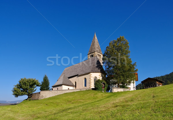 church St. Michael in Kastelruth Stock photo © LianeM