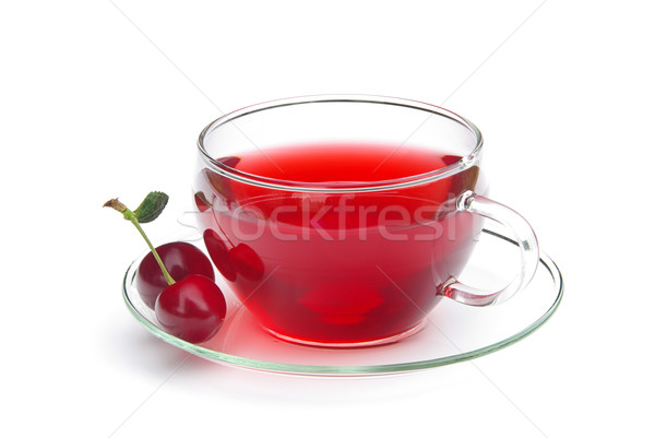 tea cherry 02 Stock photo © LianeM