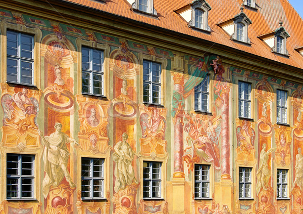Bamberg townhall detail 02 Stock photo © LianeM