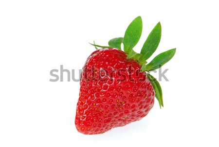 strawberry isolated 06 Stock photo © LianeM