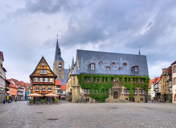Quedlinburg townhall  Stock photo © LianeM