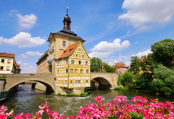 Bamberg townhall 03 Stock photo © LianeM