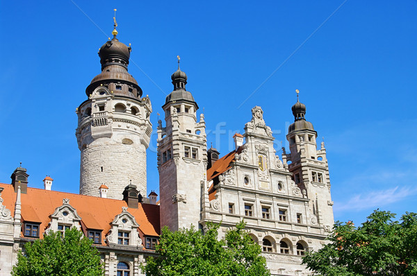 Leipzig New Townhall 02 Stock photo © LianeM