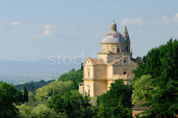 Montepulciano church 01 Stock photo © LianeM