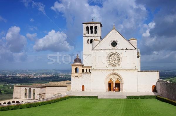 Assisi church 02 Stock photo © LianeM