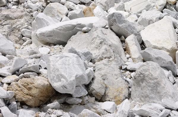 Carrara  marble stone pit 26 Stock photo © LianeM