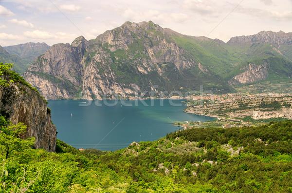 Gardasee Nago-Torbole - Lake Garda Nago-Torbole 06 Stock photo © LianeM