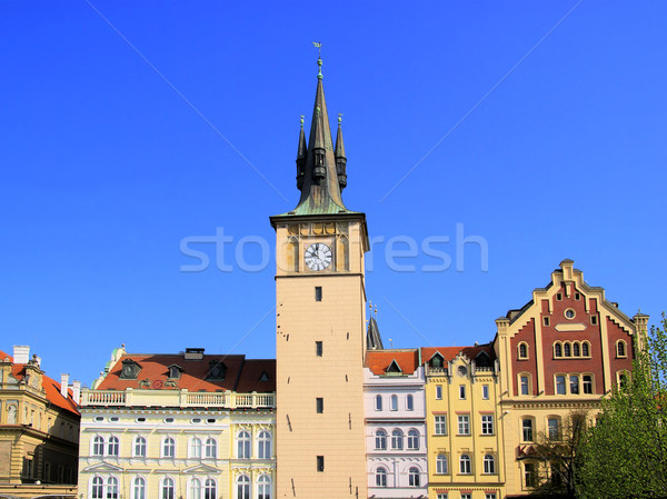 Prague house 01 Stock photo © LianeM