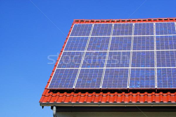 solar plant 91 Stock photo © LianeM