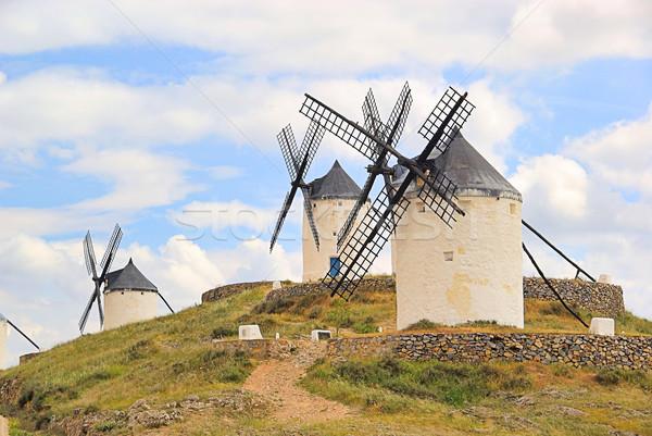 風車 18 山 ストックフォト © LianeM
