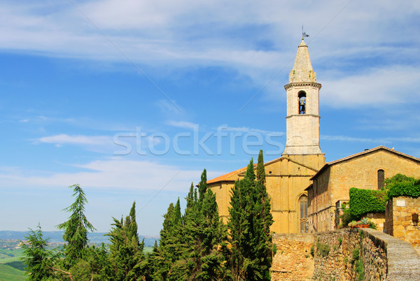 Stock photo: Pienza cathedral 07
