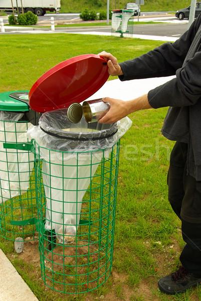dustbin 11 Stock photo © LianeM