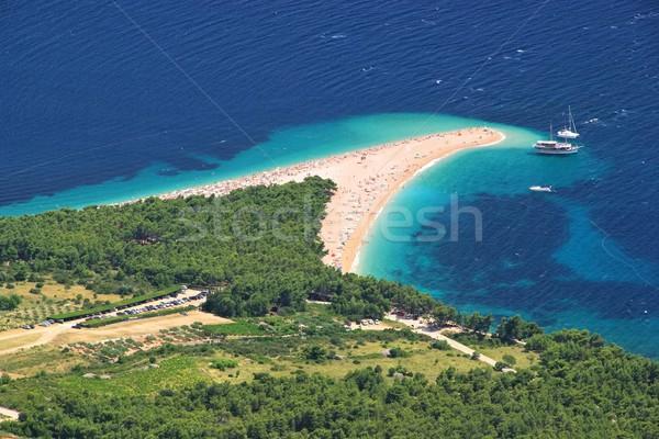 Cielo acqua natura blu isola Foto d'archivio © LianeM