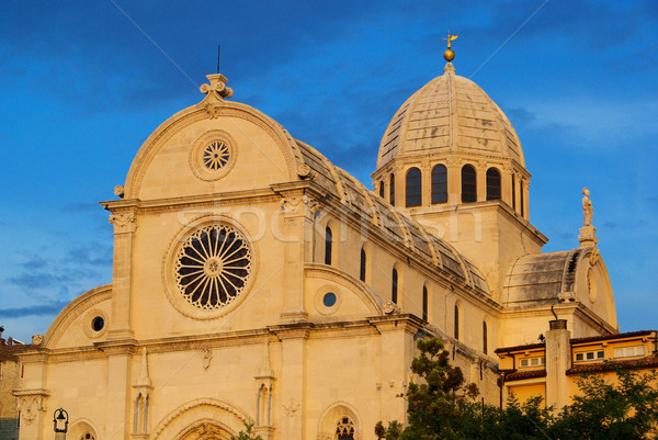 Sibenik Cathedral 15 Stock photo © LianeM