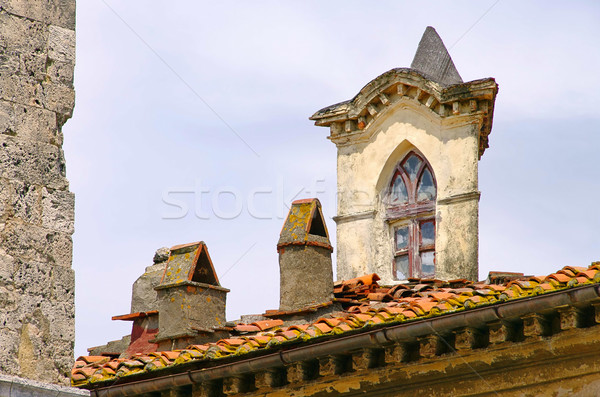 Dachfenster - window in roof 02 Stock photo © LianeM