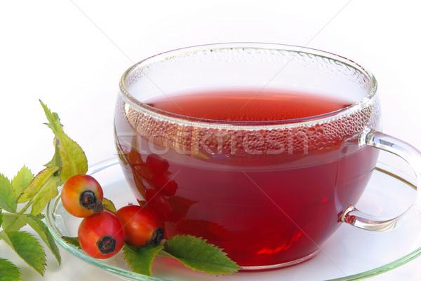 rose hip tea 04 Stock photo © LianeM