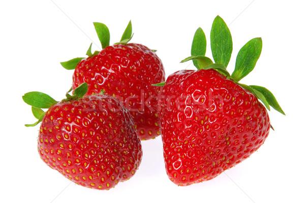 strawberry isolated 07 Stock photo © LianeM