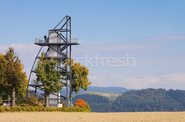 Rathmannsdorf viewing tower 01 Stock photo © LianeM