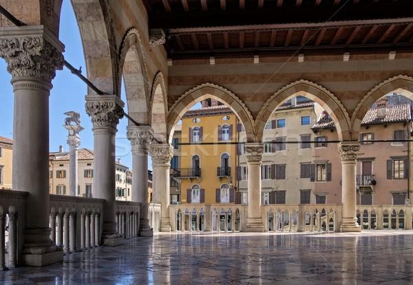 Udine Loggia del Lionello Stock photo © LianeM