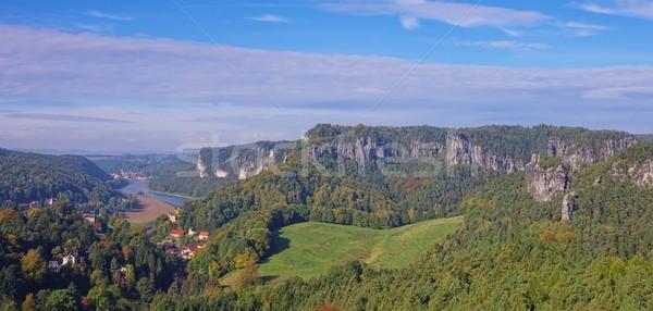 mountain Gamrig view 02 Stock photo © LianeM
