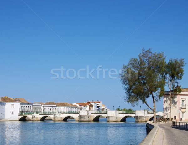Tavira bridge Stock photo © LianeM