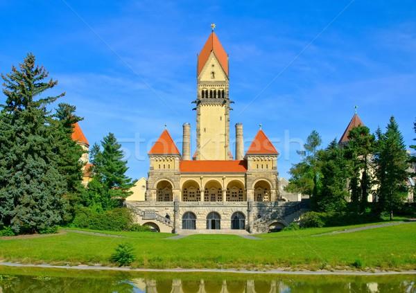 часовня башни кладбища собора арки Сток-фото © LianeM