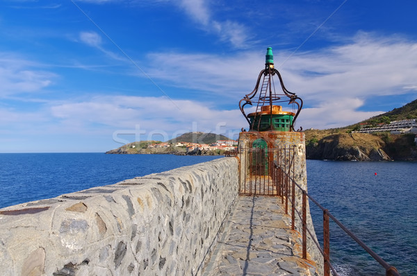 Lighthouse in Collioure in France Stock photo © LianeM