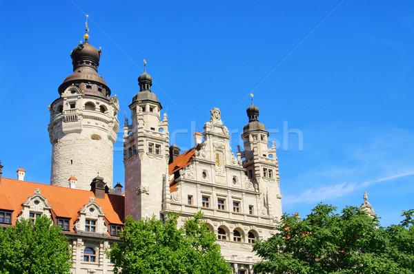 Leipzig New Townhall 01 Stock photo © LianeM